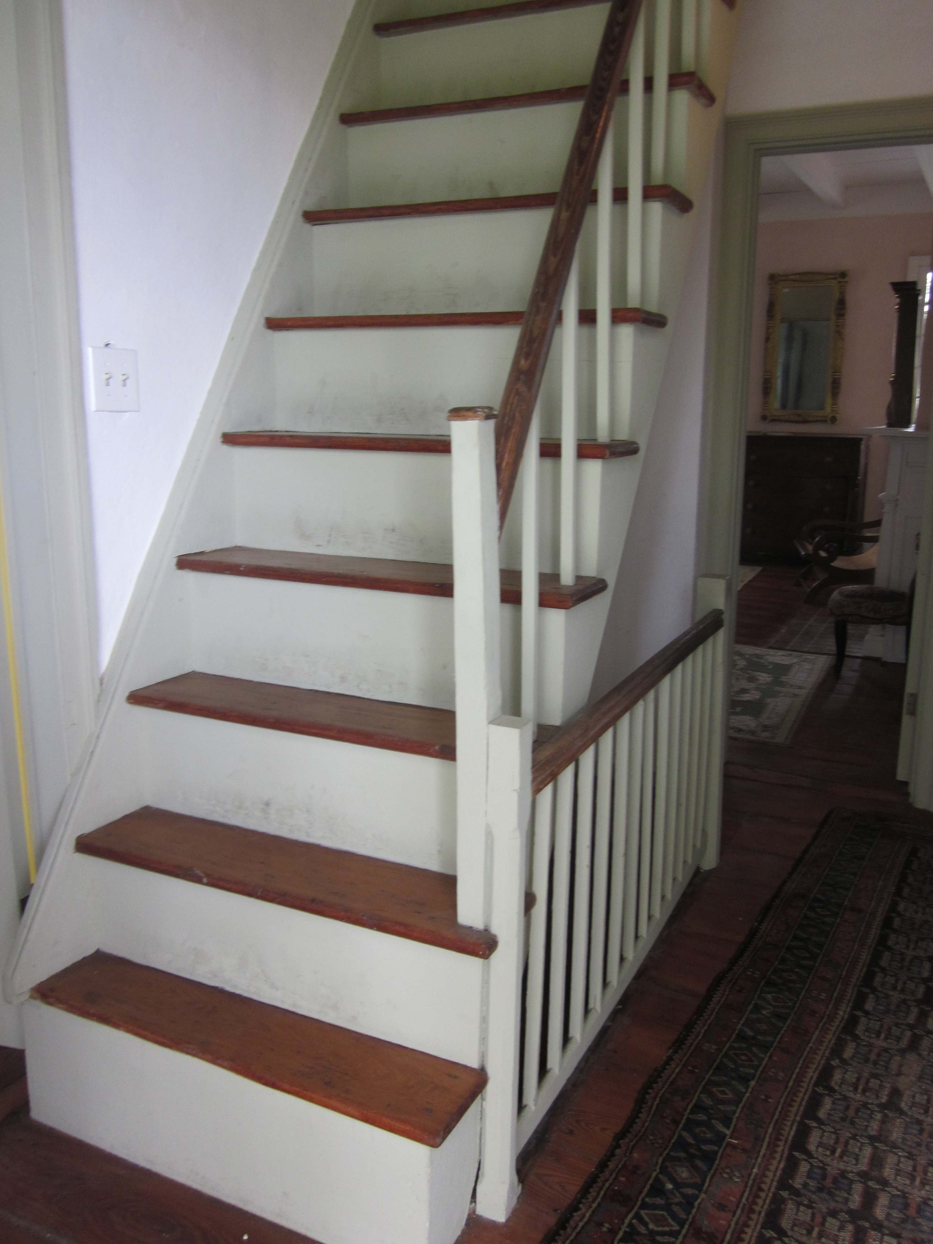 House Of Stairs File Mary Plantation House Upstairs Interior Stairs To