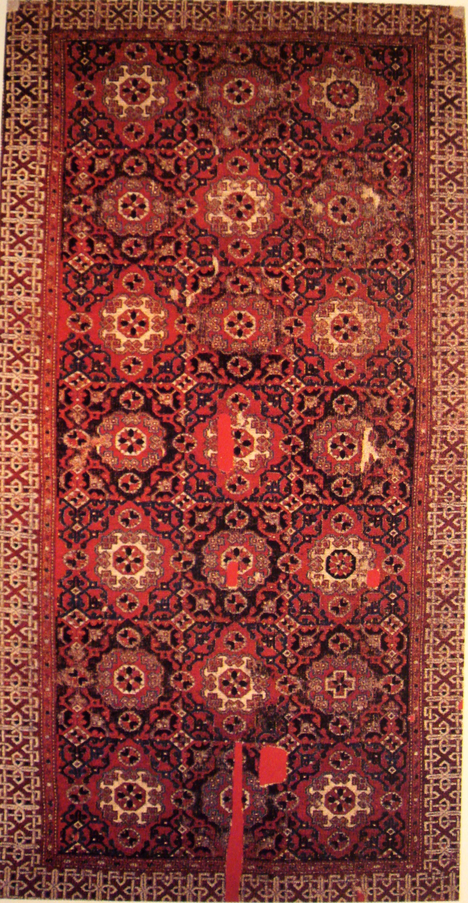 Orientalische Teppiche Wikipedia Datei Small Pattern Holbein Carpet Anatolia 16th Century