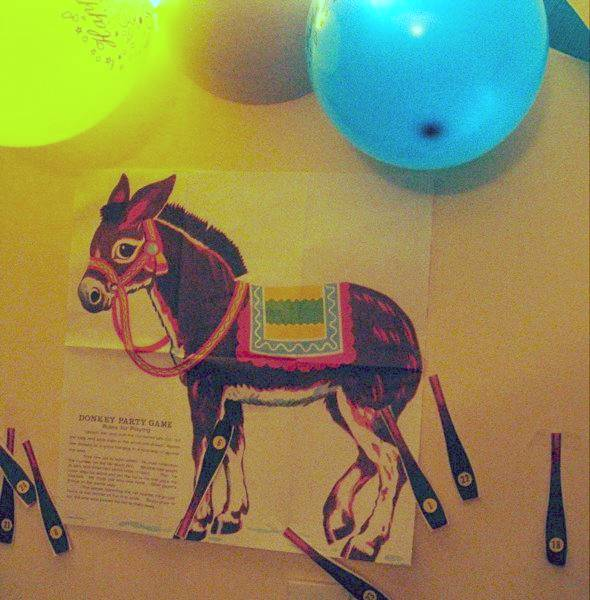Pin the tail on the donkey - Wikipedia