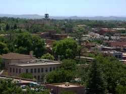 Santa Fe NM A Brief History of Urbanism in North America: 1600s