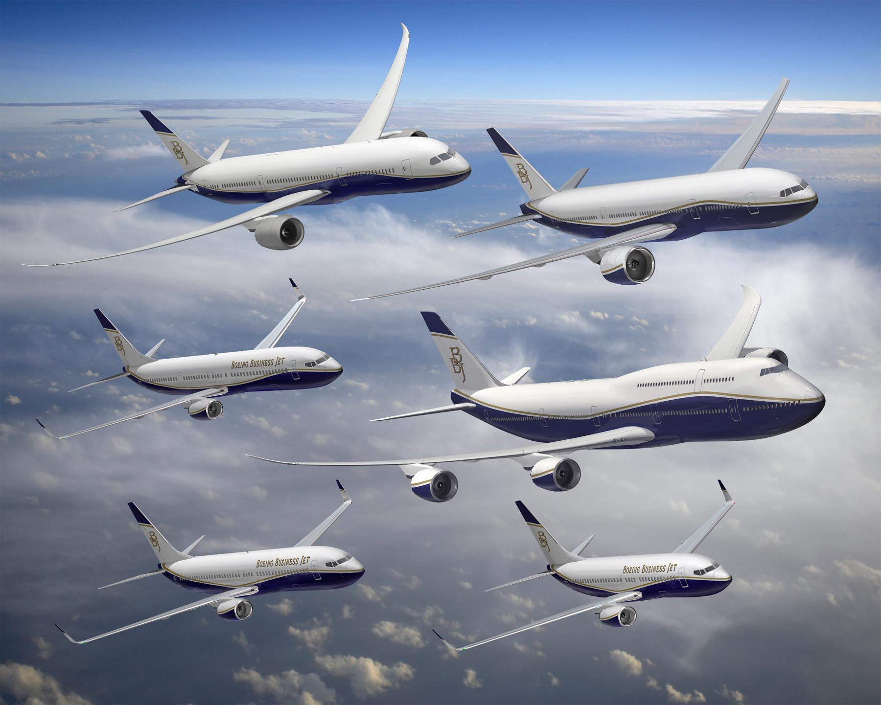 Boeing Airplane Commercial Aircraft Types