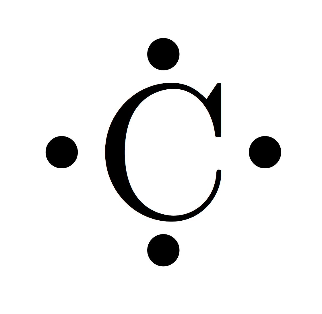 dot diagram of co2