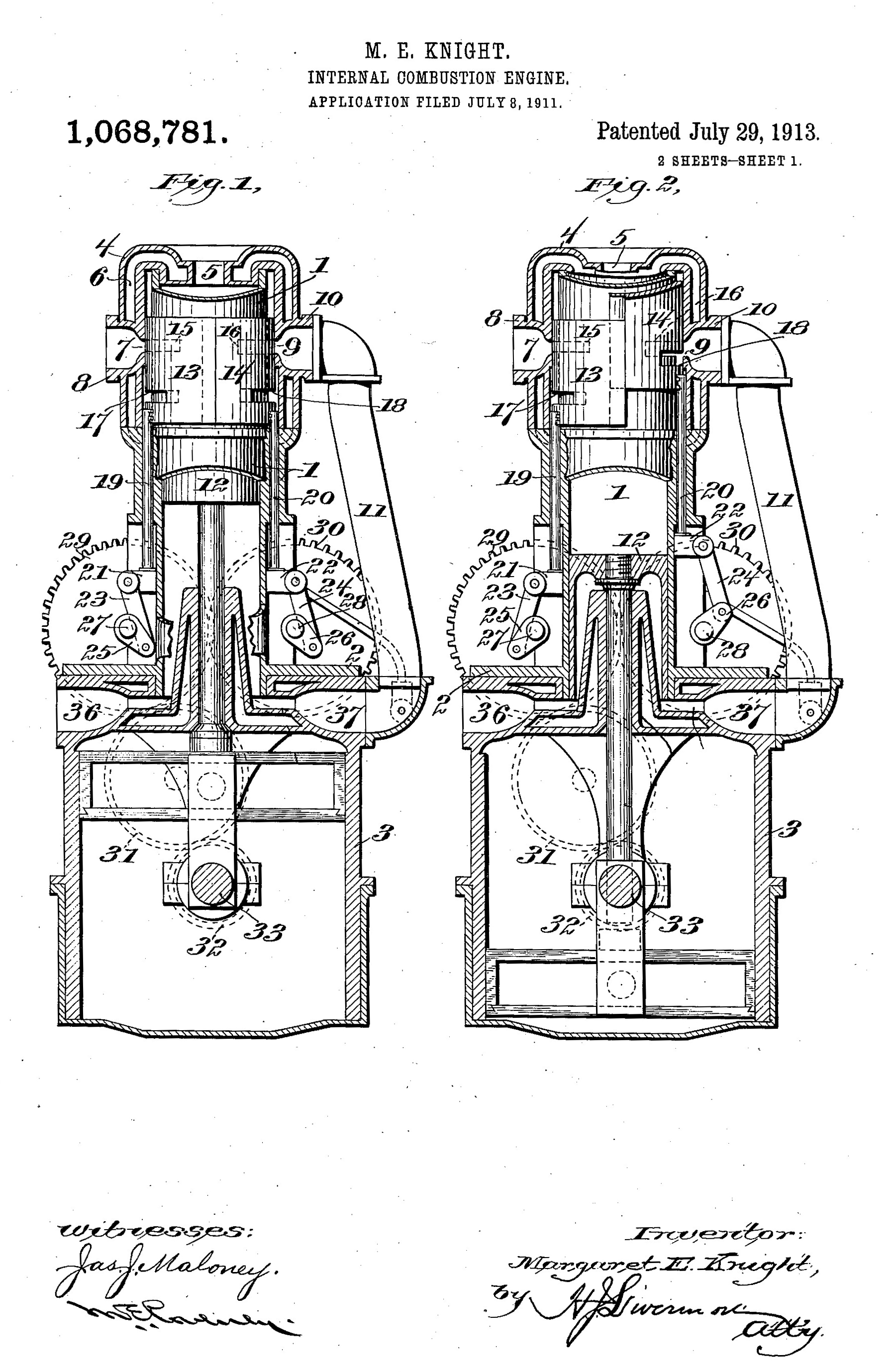 internal combustion engine pv diagram
