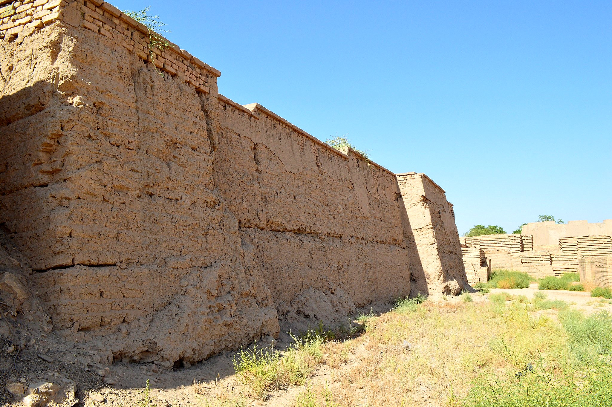 Bb Ii File:the Inner Walls Of The Ancient City Of Babylon, Iraq