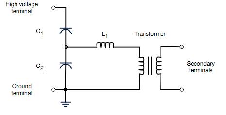 capacitor wire diagram