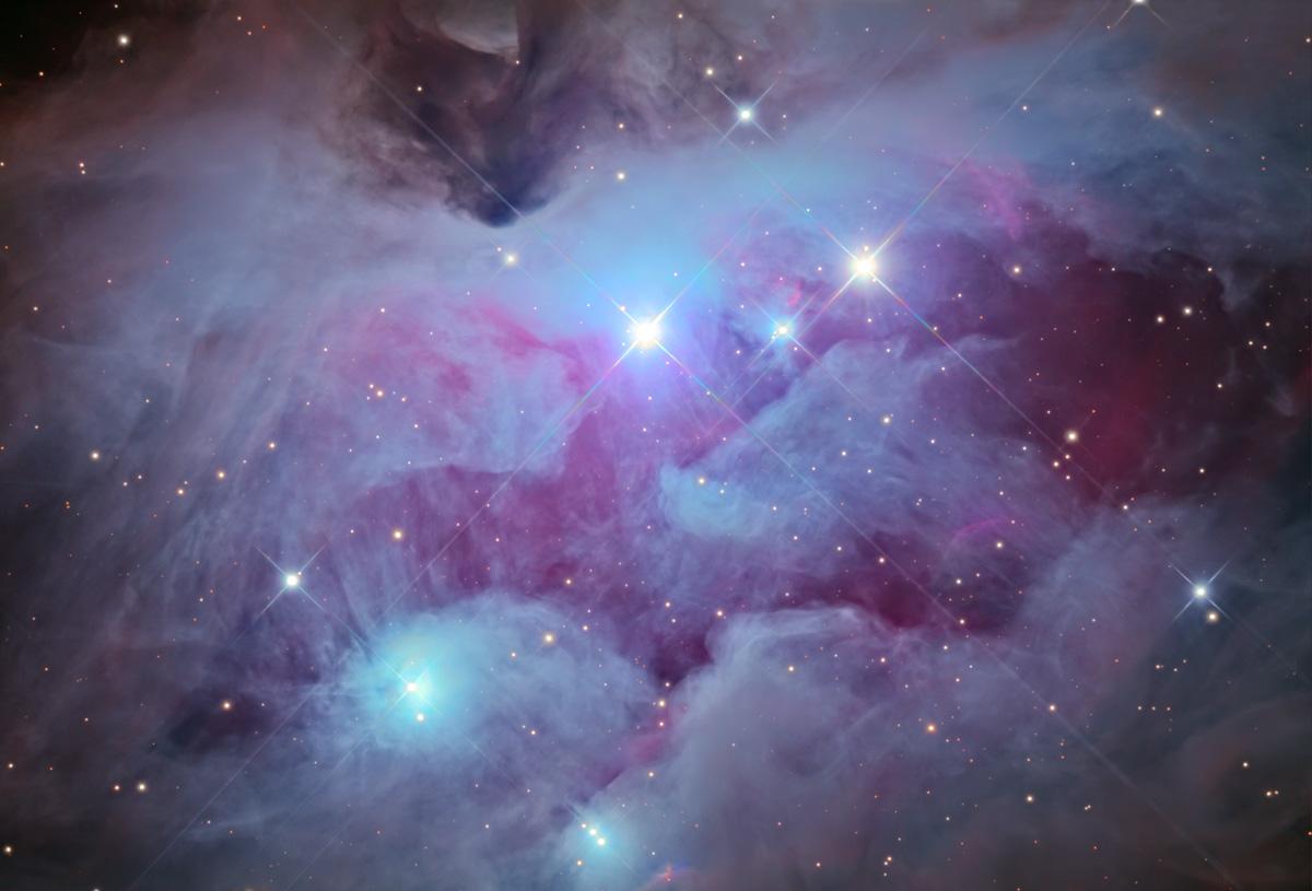 Orion Nebula Hd Wallpaper Ngc 1977 Wikipedia