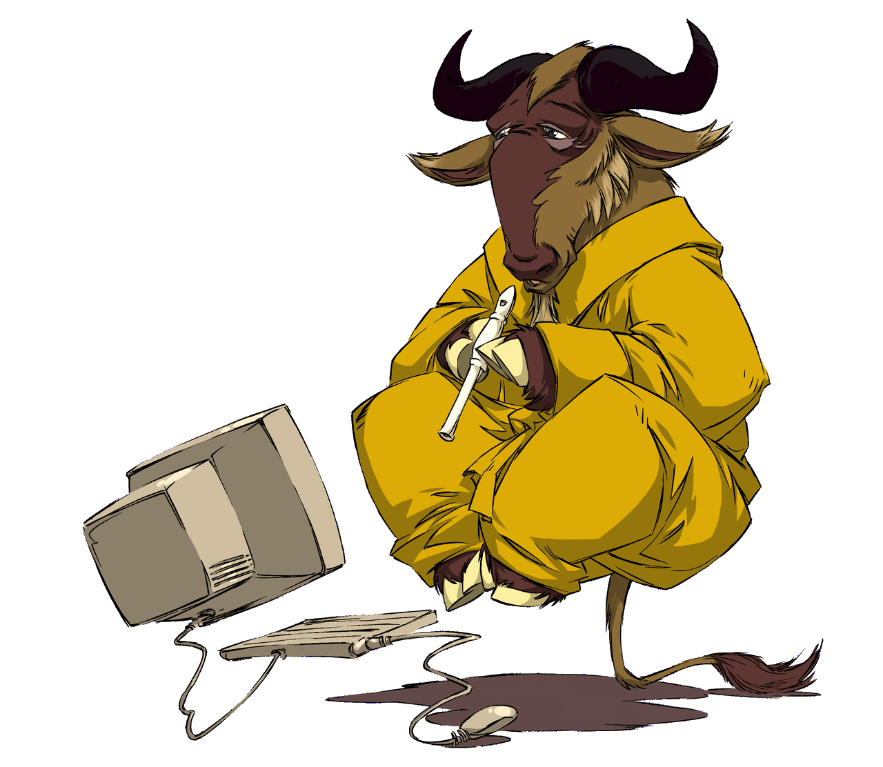 Sofware Libre File Gnu Meditate Levitate Png Wikimedia Commons