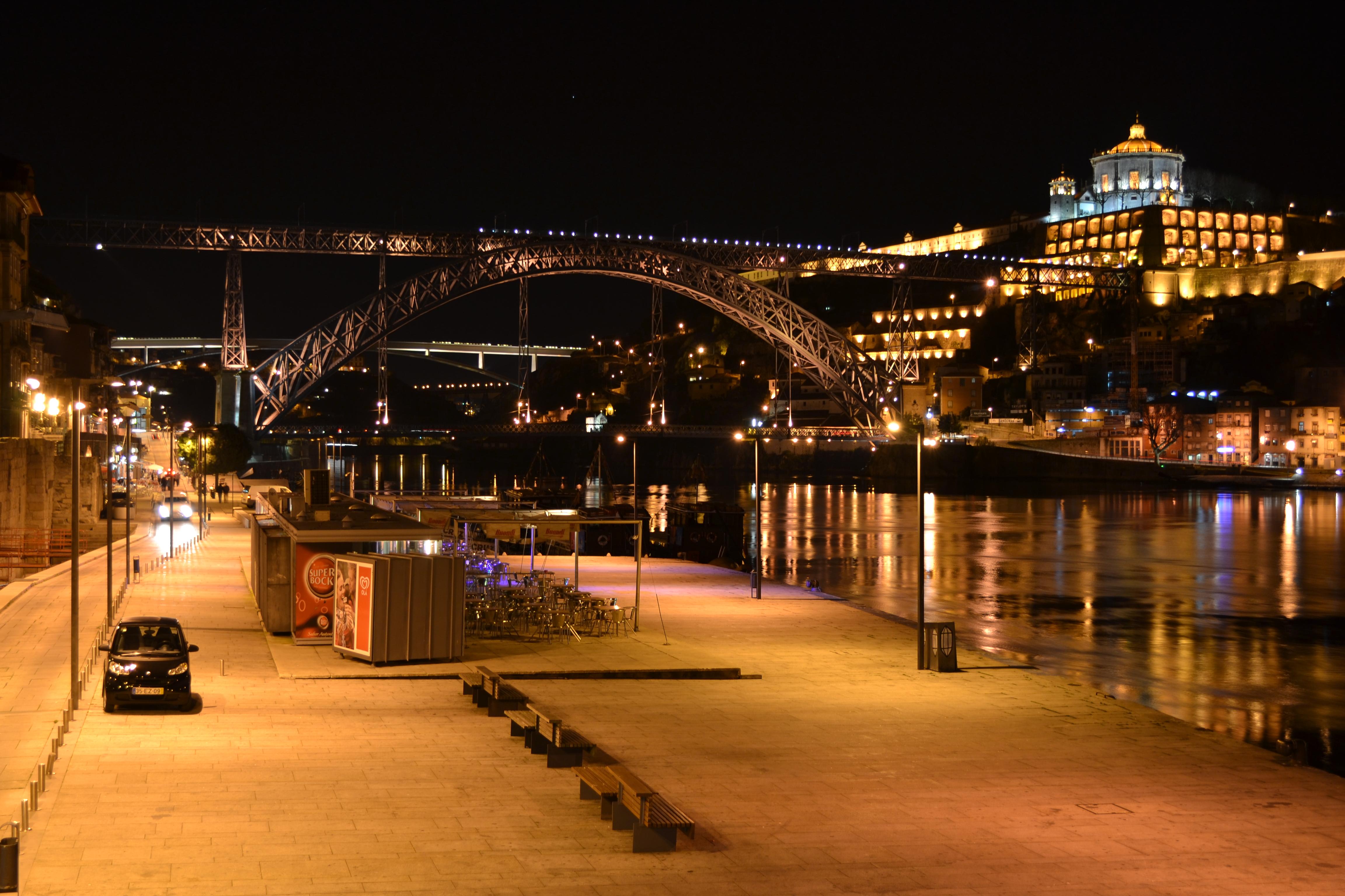 Under The Sea Wallpaper Hd File Ribeira 224 Noite Porto Jpg Wikimedia Commons