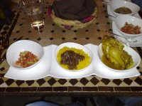 File:Moroccan dishes at Le Marrakech Bistro-01.jpg ...