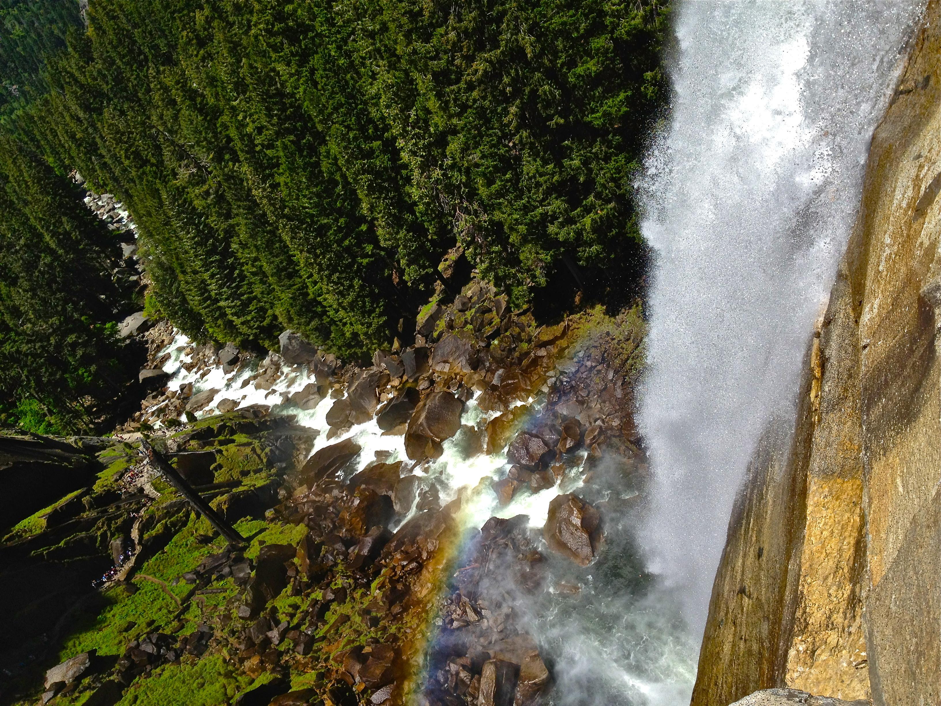Free Fall Wallpaper File Nevada Falls Yosemite Jpg Wikimedia Commons