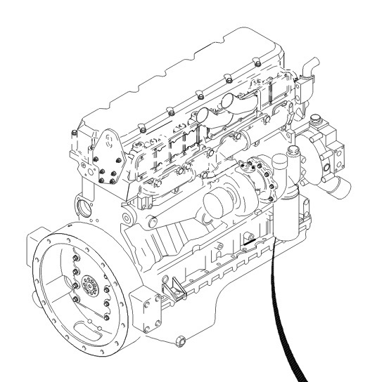caterpillar 3116 parts diagram