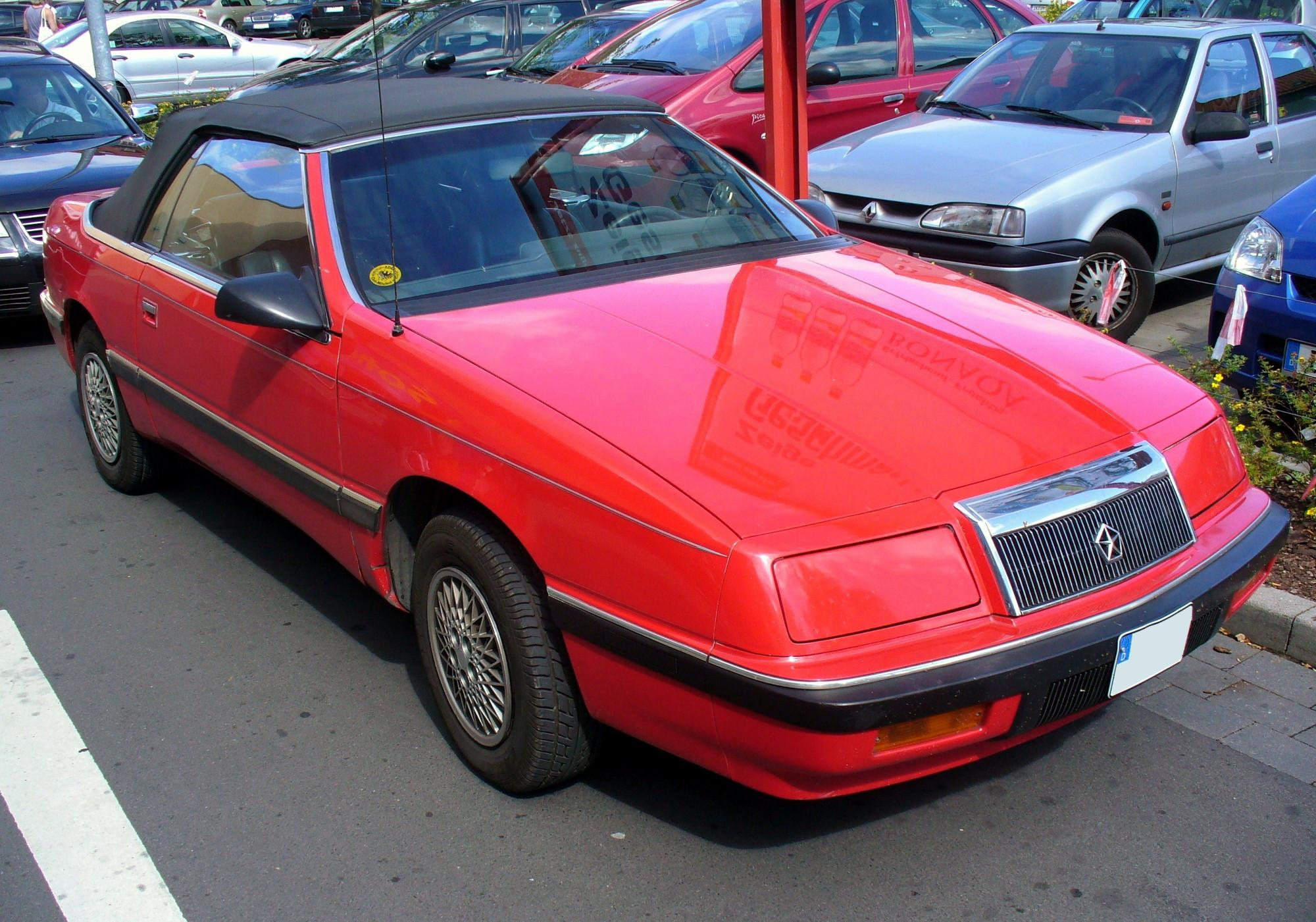 Les Tabourets De Lord Blotton Datei Chrysler Lebaron Convertible Jpg Wikipedia