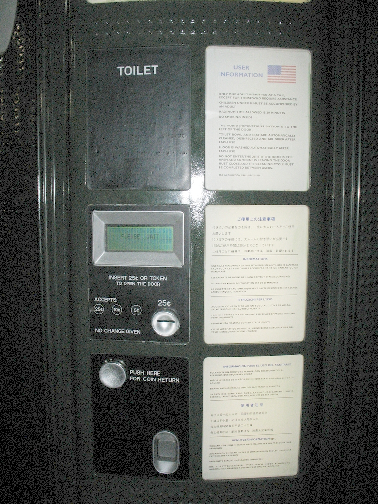 Paper Box Committee To End Pay Toilets In America - Wikipedia