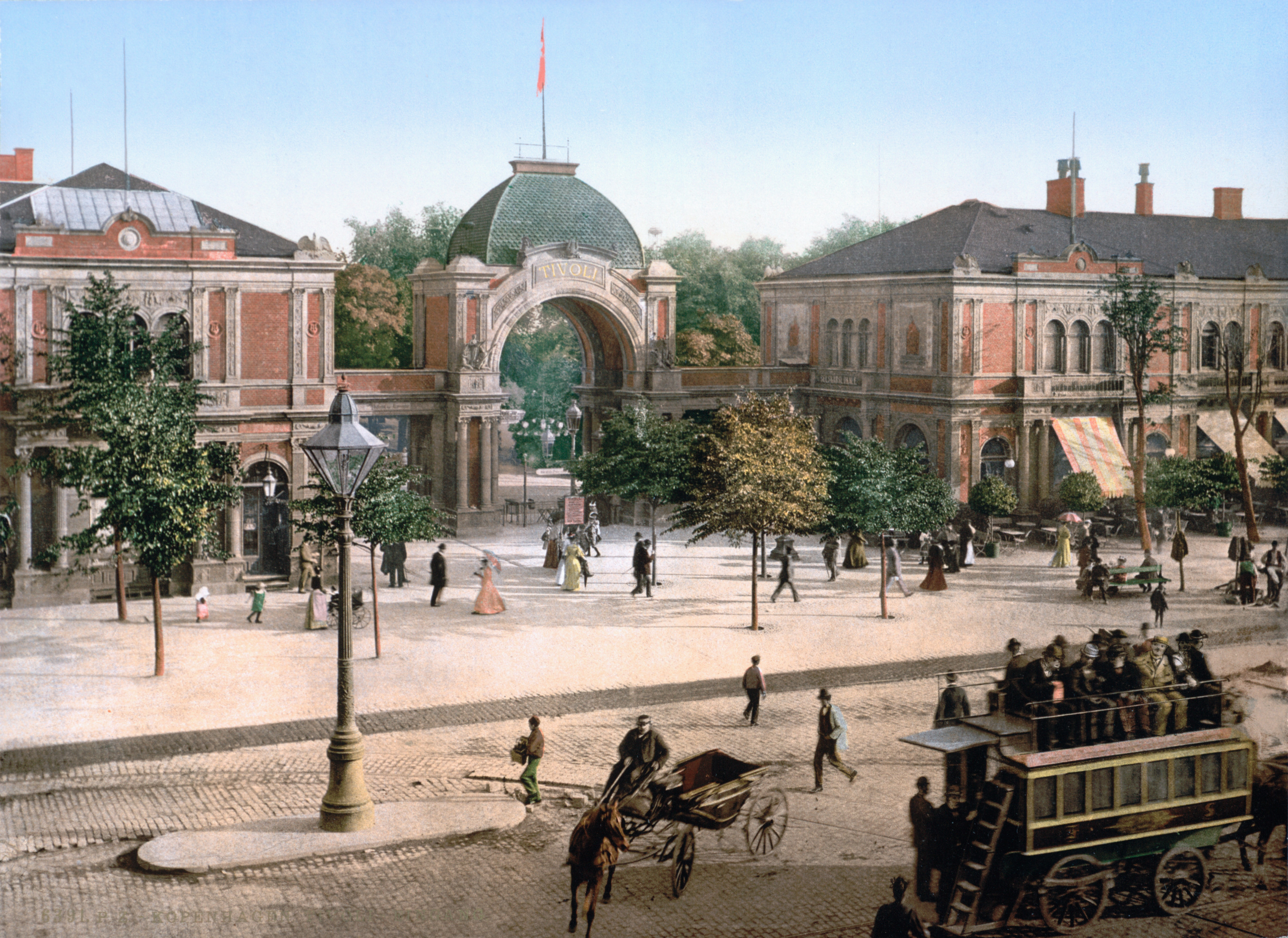 Tivoli Denmark English File The Tivoli Park Entrance Copenhagen Denmark Loc