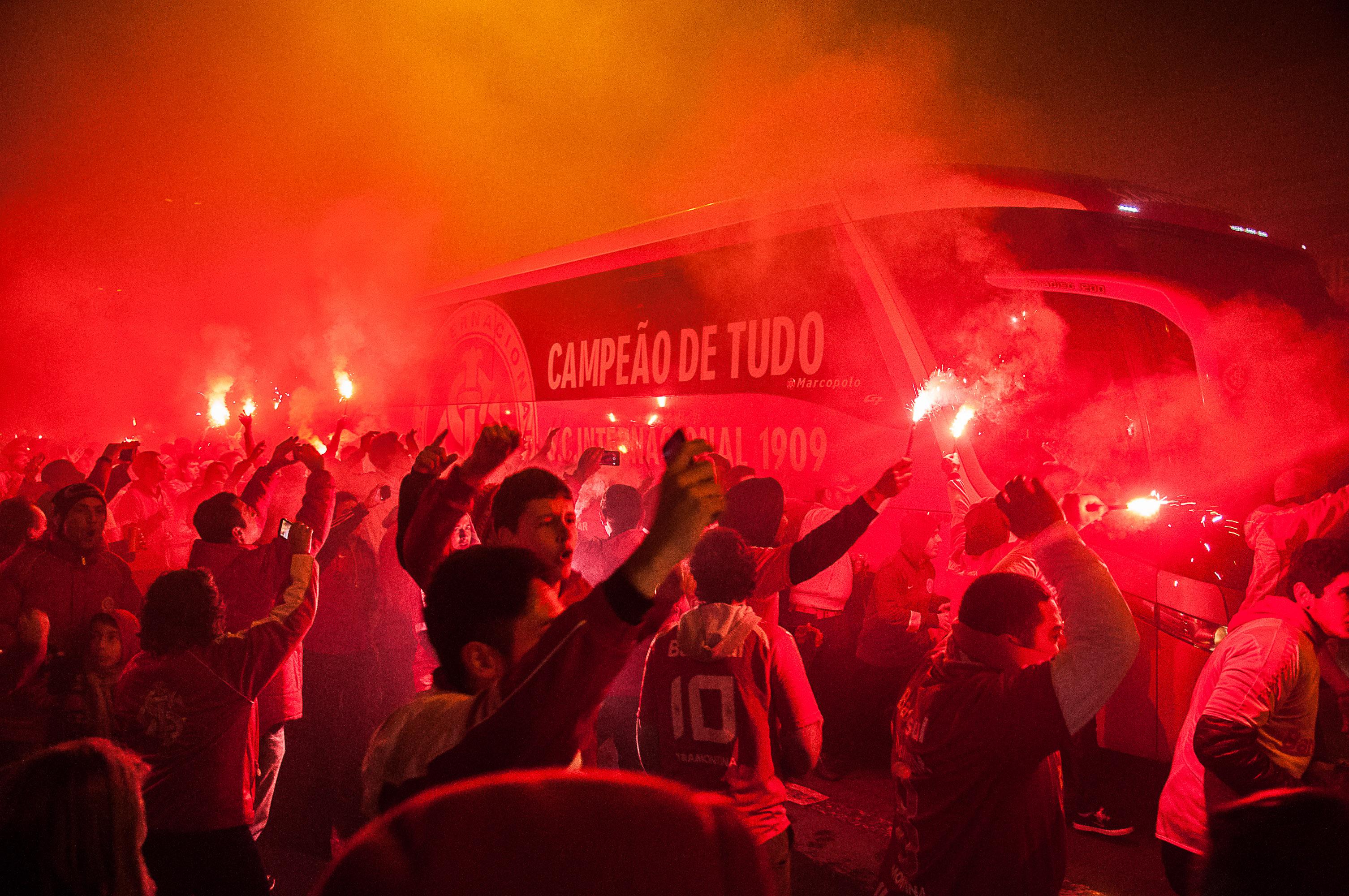 Club America Wallpaper 3d File Torcida Do Inter Antes Do Jogo Pela Copa Libertadores