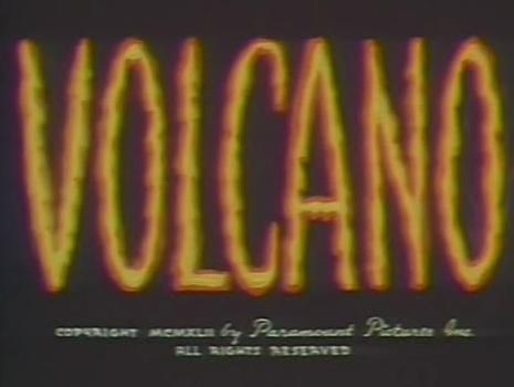 Volcano (1942 film) - Wikipedia - animation title