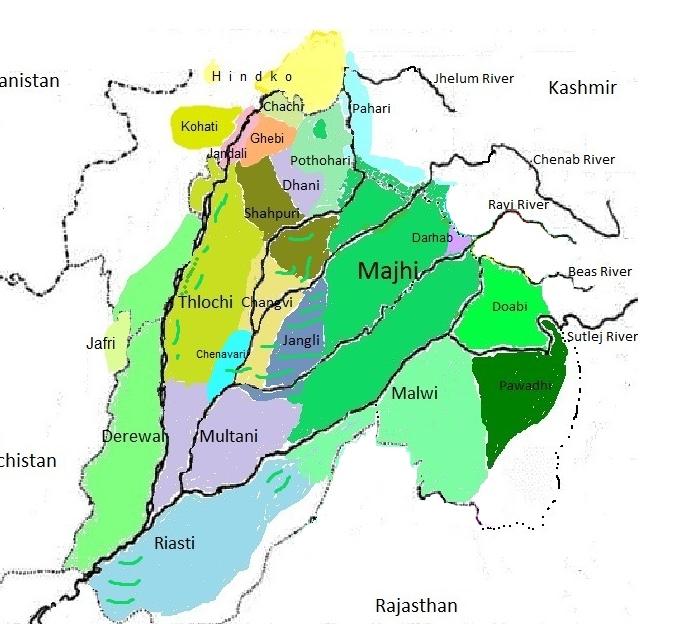Punjabi dialects - Wikipedia