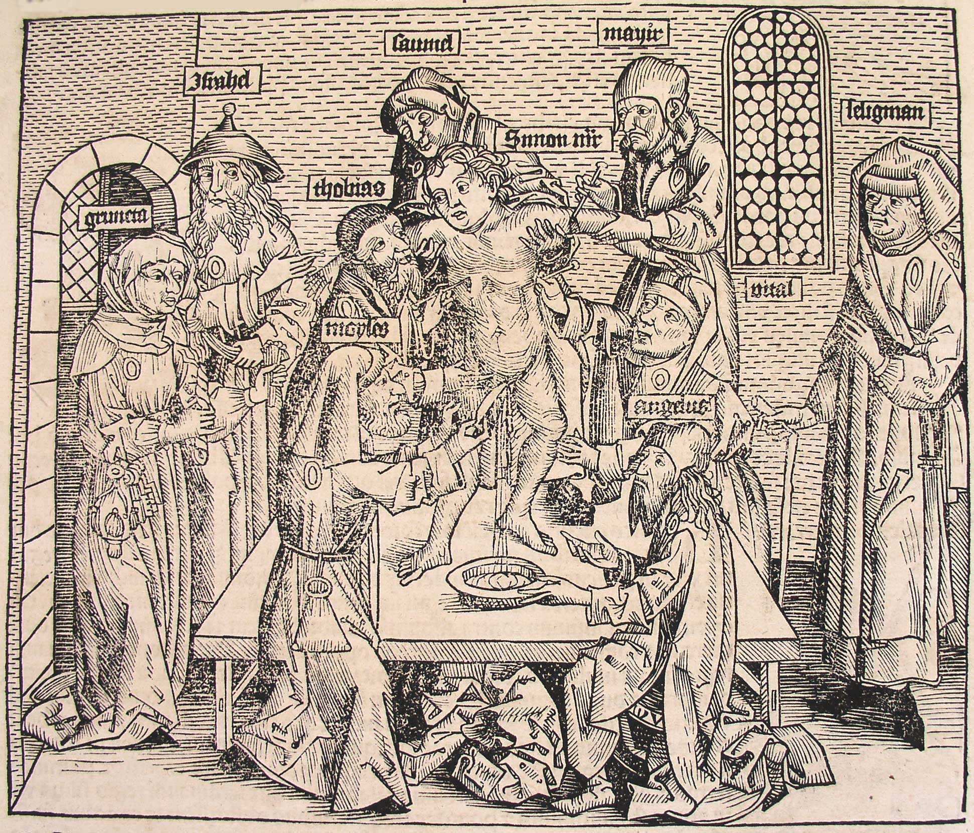 Hartmann Trento File Schedel Sche Weltchronik Sacrifice Of A Child Ccliii Jpg