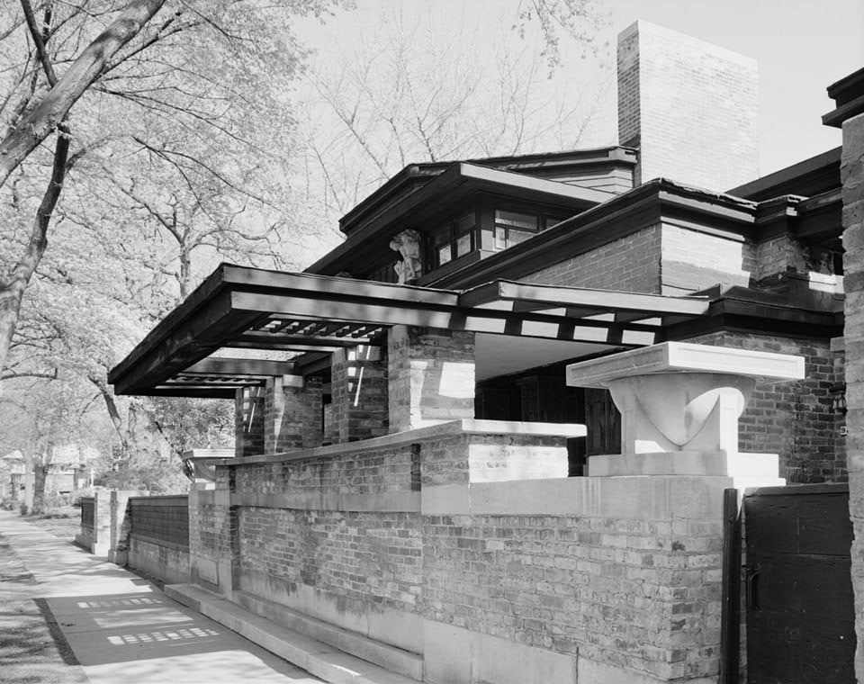 Filefrank Lloyd Wright Home Studiojpg Wikimedia Commons