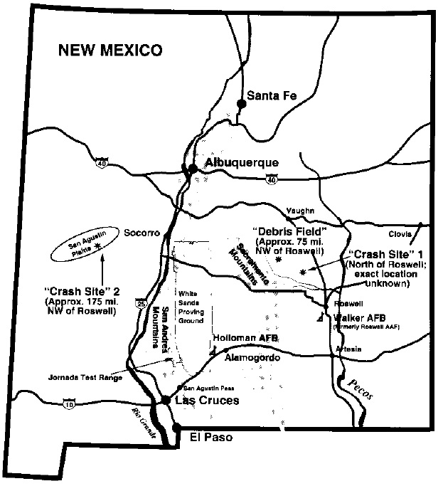4 Conspiracy Theories Tied To New Mexico