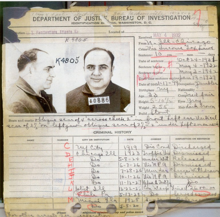 FileCapone\u0027s criminal record in 1932jpg - Wikimedia Commons