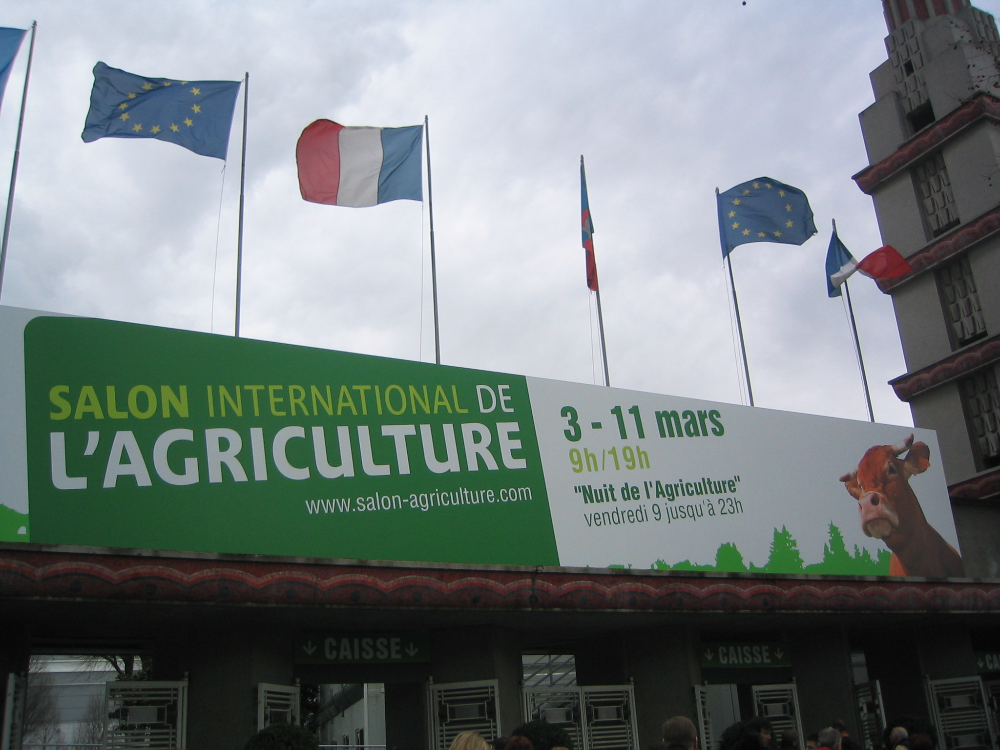 Salons Porte De Versailles 2015 Paris International Agricultural Show Wikipedia