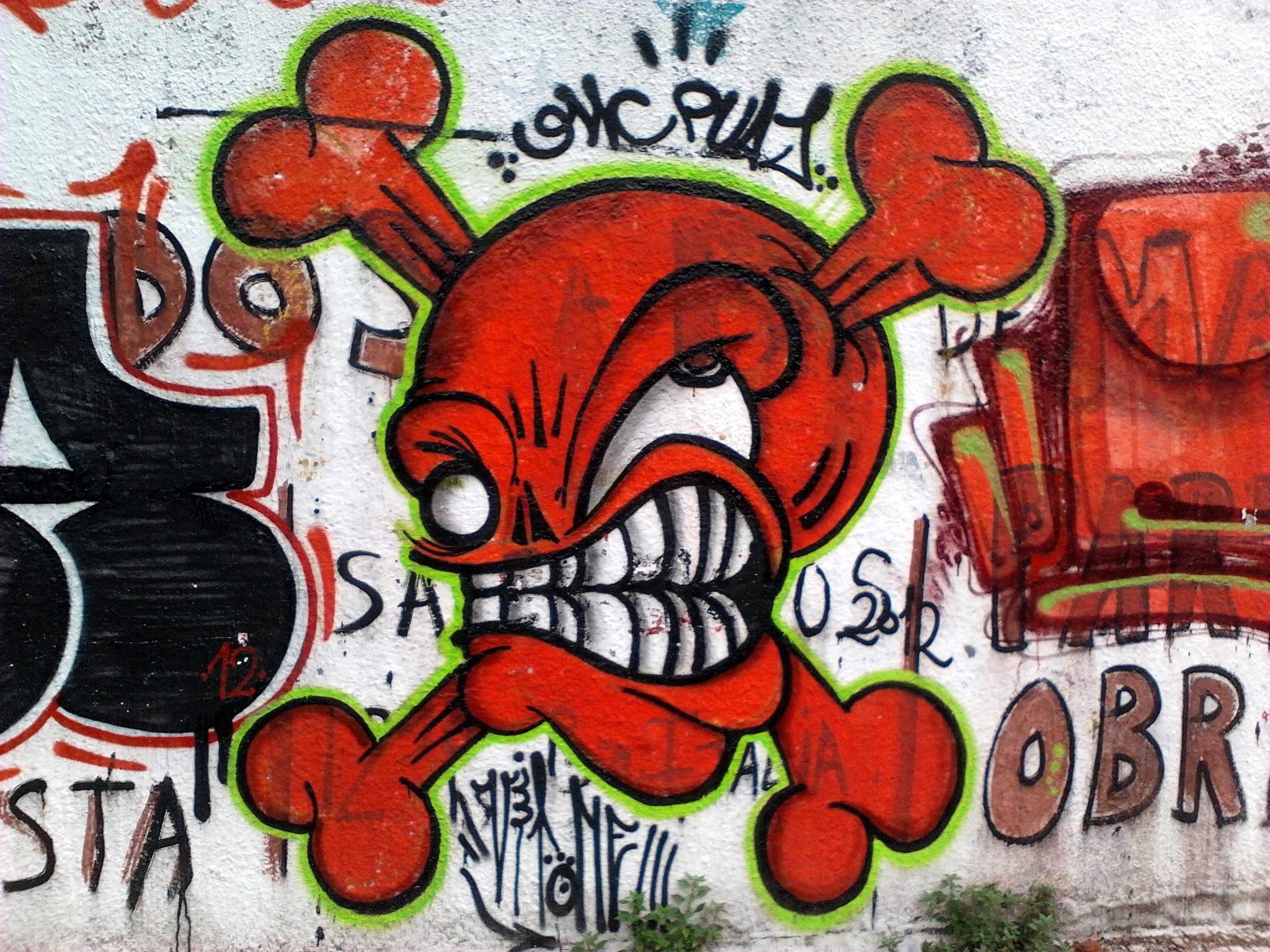 3d Street Art Wallpaper File Peligro Grafiti Jpg Wikimedia Commons