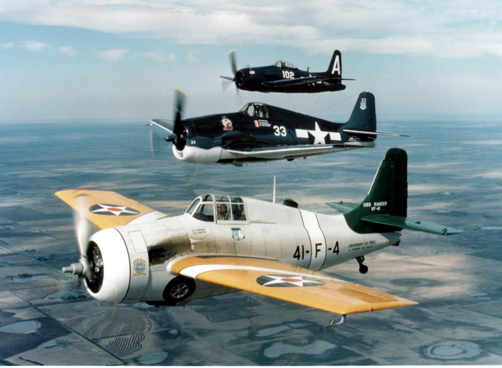 Wings Wallpaper Hd File Fm Wildcat F6f Hellcat And F8f Bearcat Warbirds In