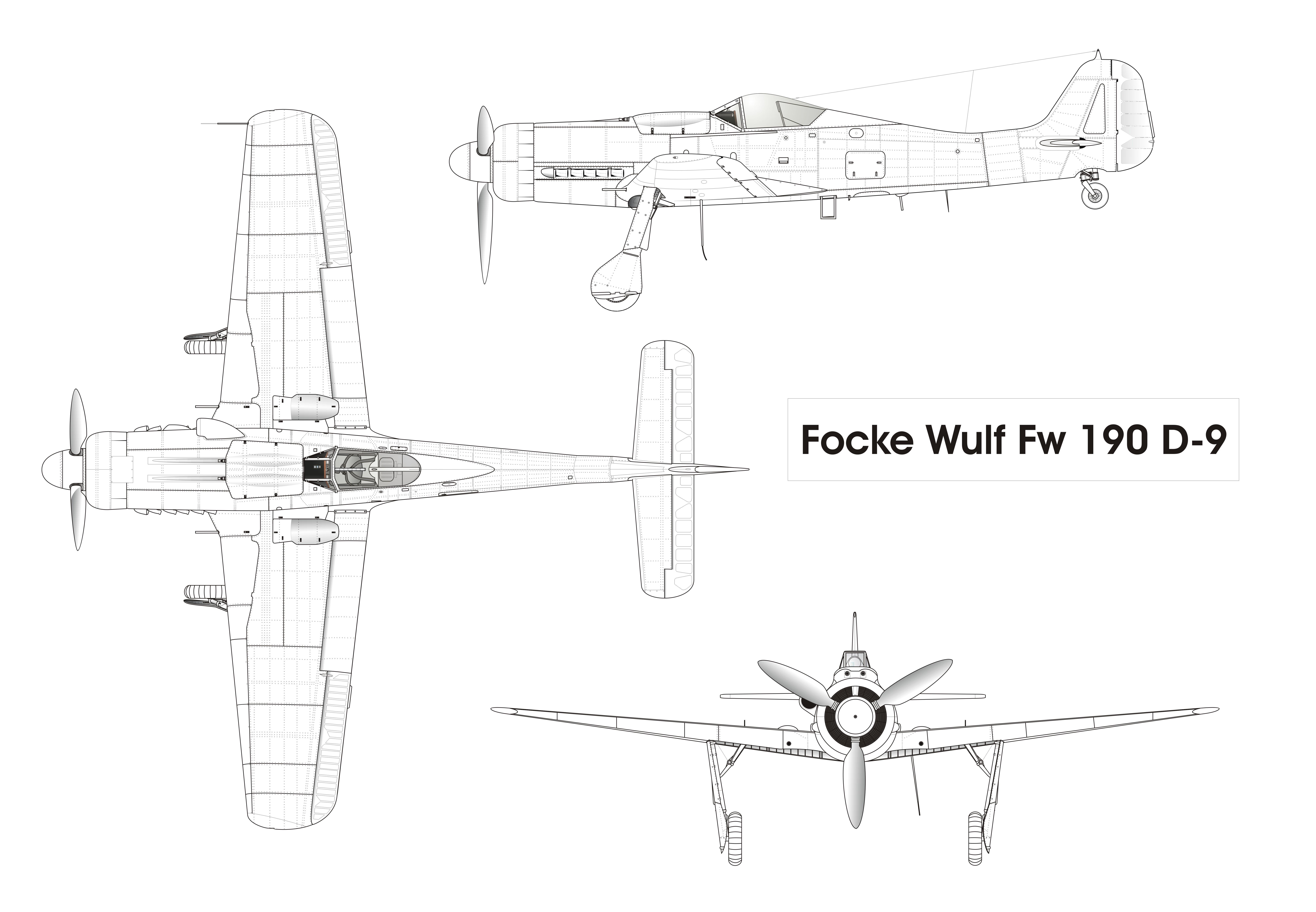 focke wulf fw 190 a auto electrical wiring diagram
