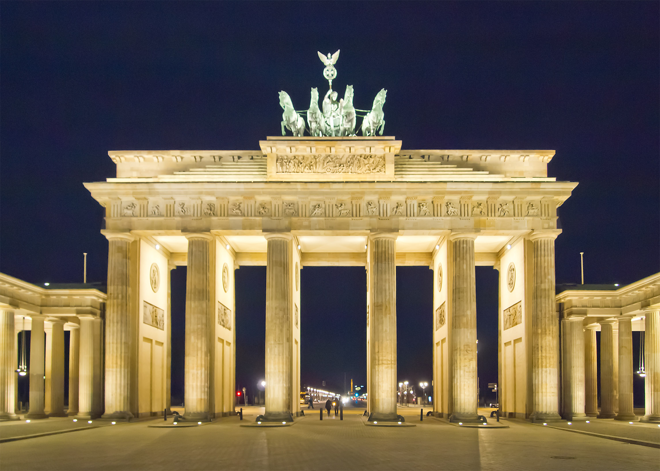 Fileberlin Brandenburger Tor Nachtjpg Wikimedia Commons