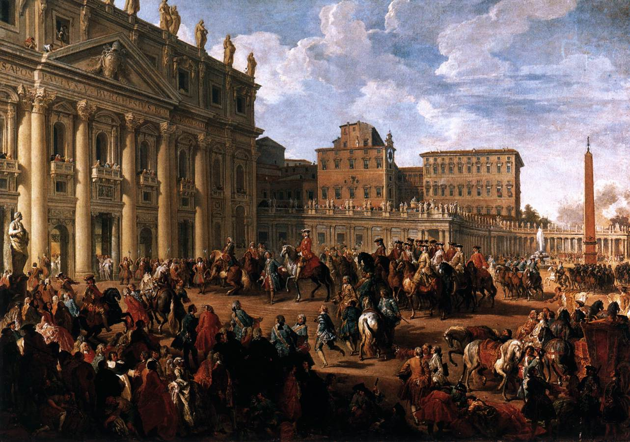 Pittori Fiamminghi National Gallery File Giovanni Paolo Pannini Charles Iii At St Peter 39s