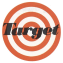 English: Logo of Target Stores in 1968.