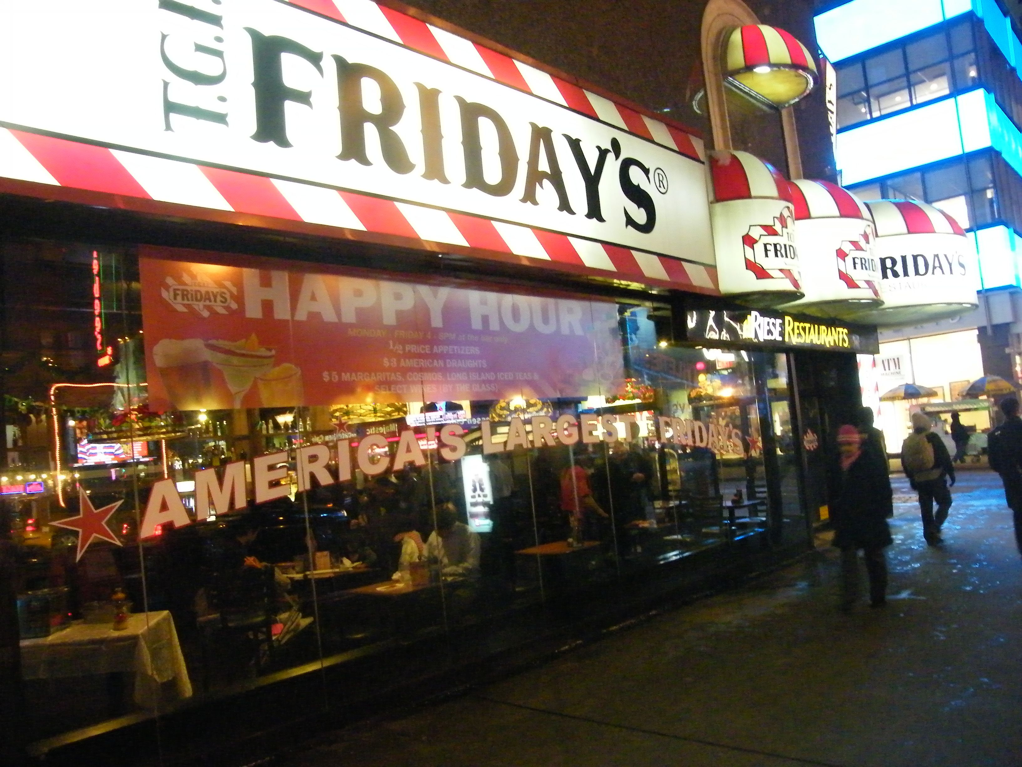 Amerikanische Restaurants Nrw Tgi Friday S Wikipedia