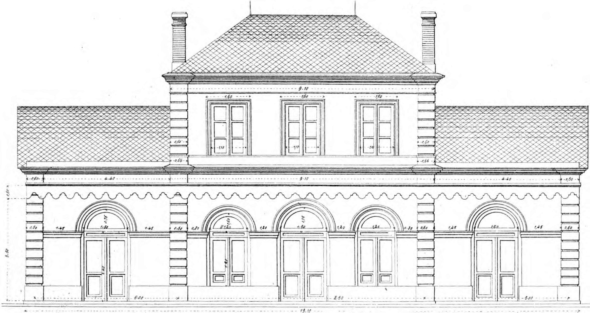 Dessin Facade Maison Logiciel Plan Facade Maison Gratuit