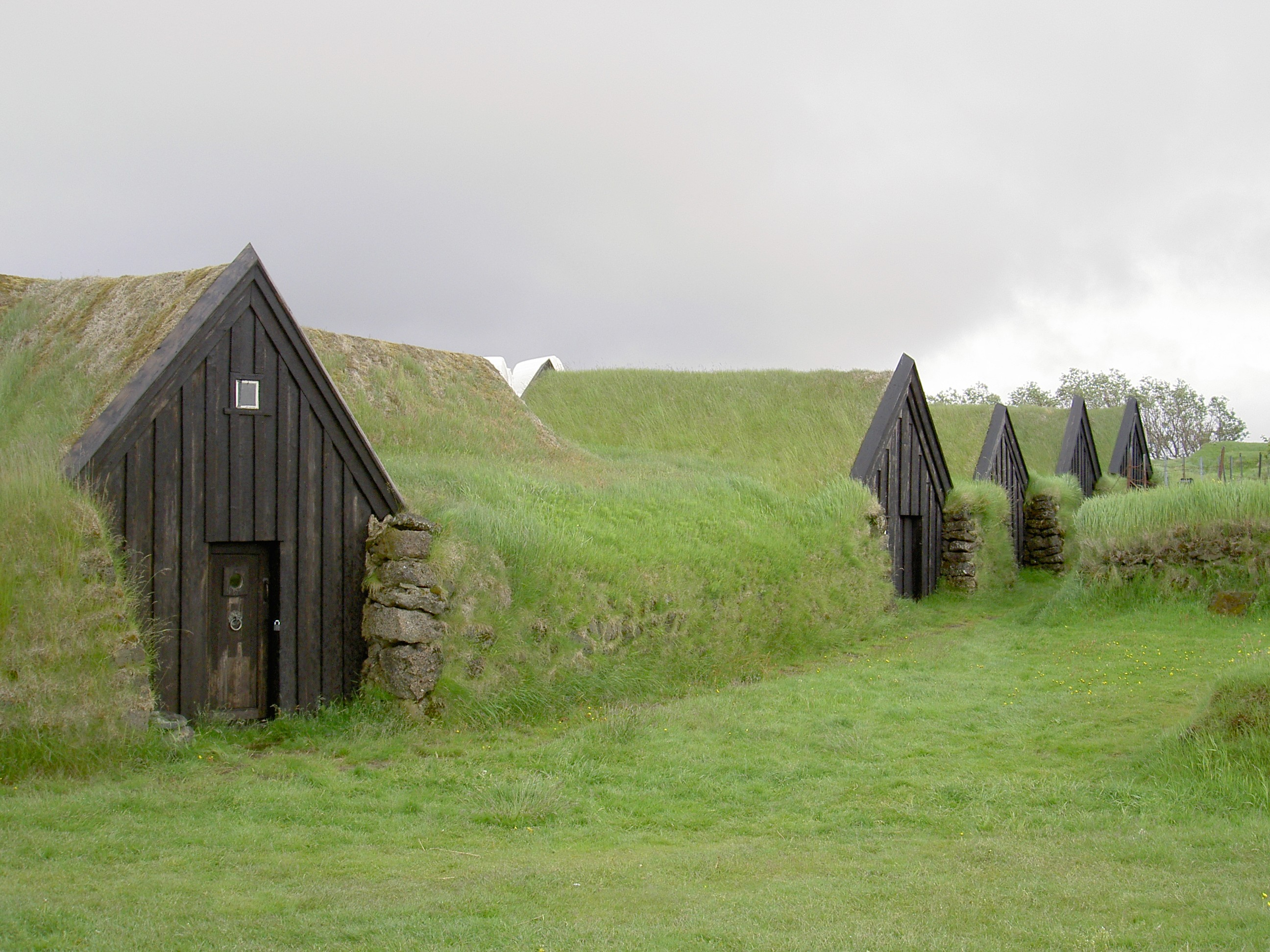 Earth Covered Homes In Keldur Farm Iceland