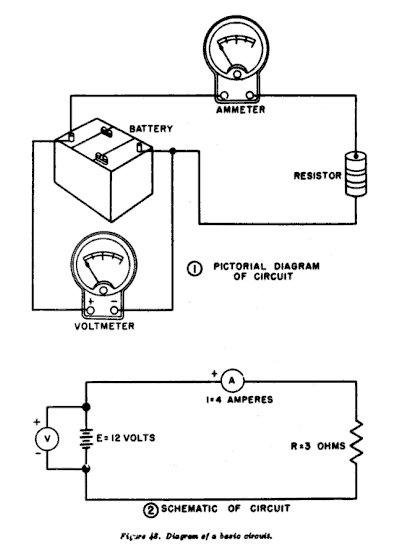 series circuit diagrams label