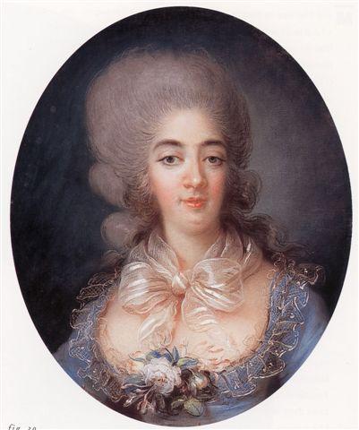 Princess Maria Giuseppina of Savoy, Countess of Provence, c1780.  source: Wikipedia