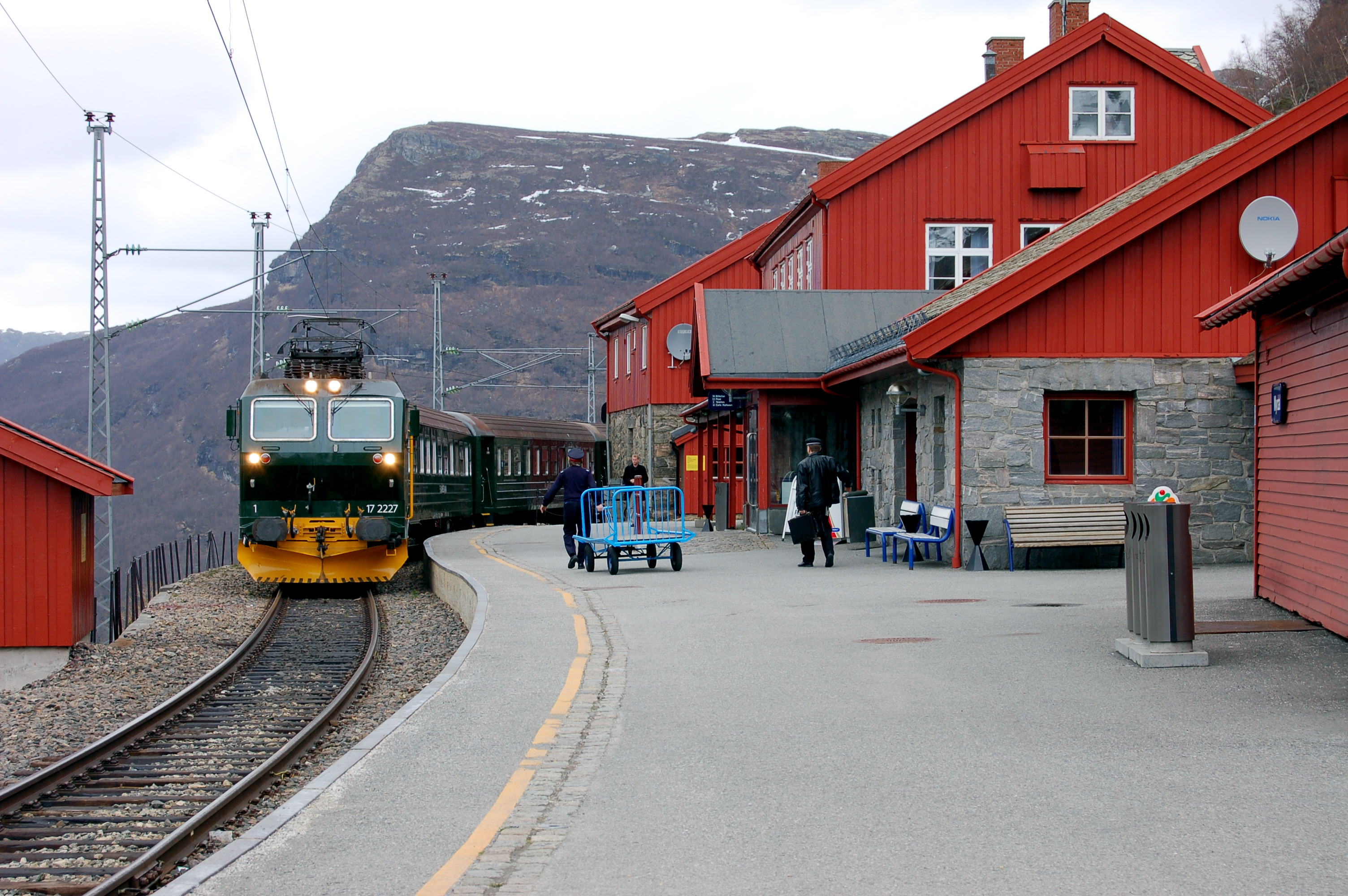 Norway Train Myrdal Station Wikipedia