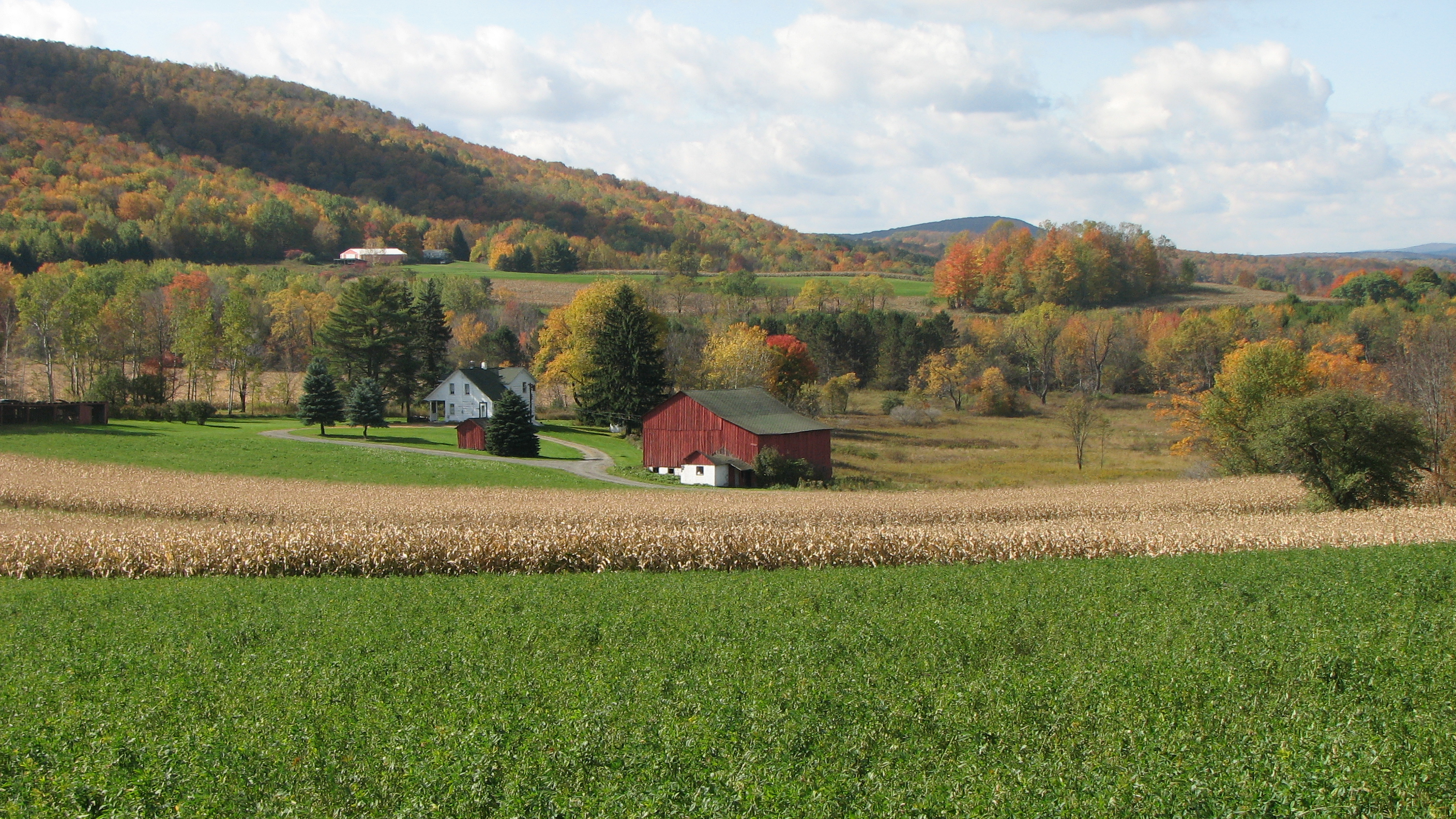 Free Country Fall Wallpaper File North Central Pennsylvania Farm Jpg Wikimedia Commons