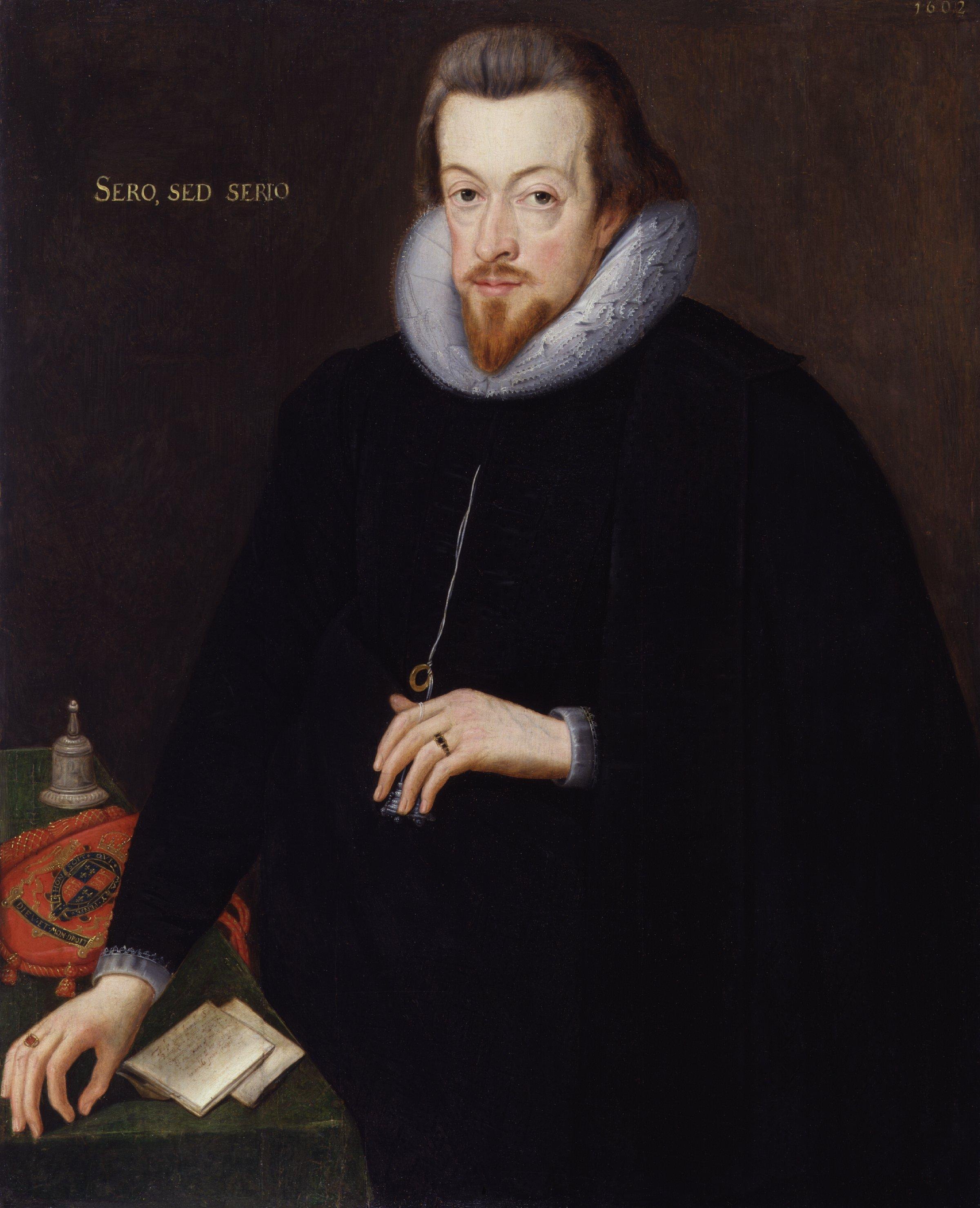 Sessel Queen Elizabeth Robert Cecil 1st Earl Of Salisbury Wikipedia