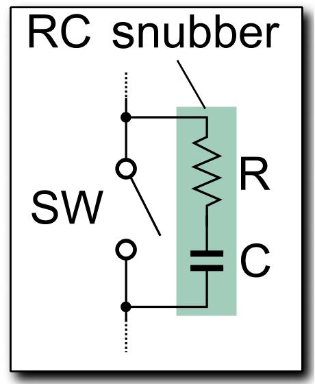 110v 220v Switch Wiring Diagram Snubber Wikipedia