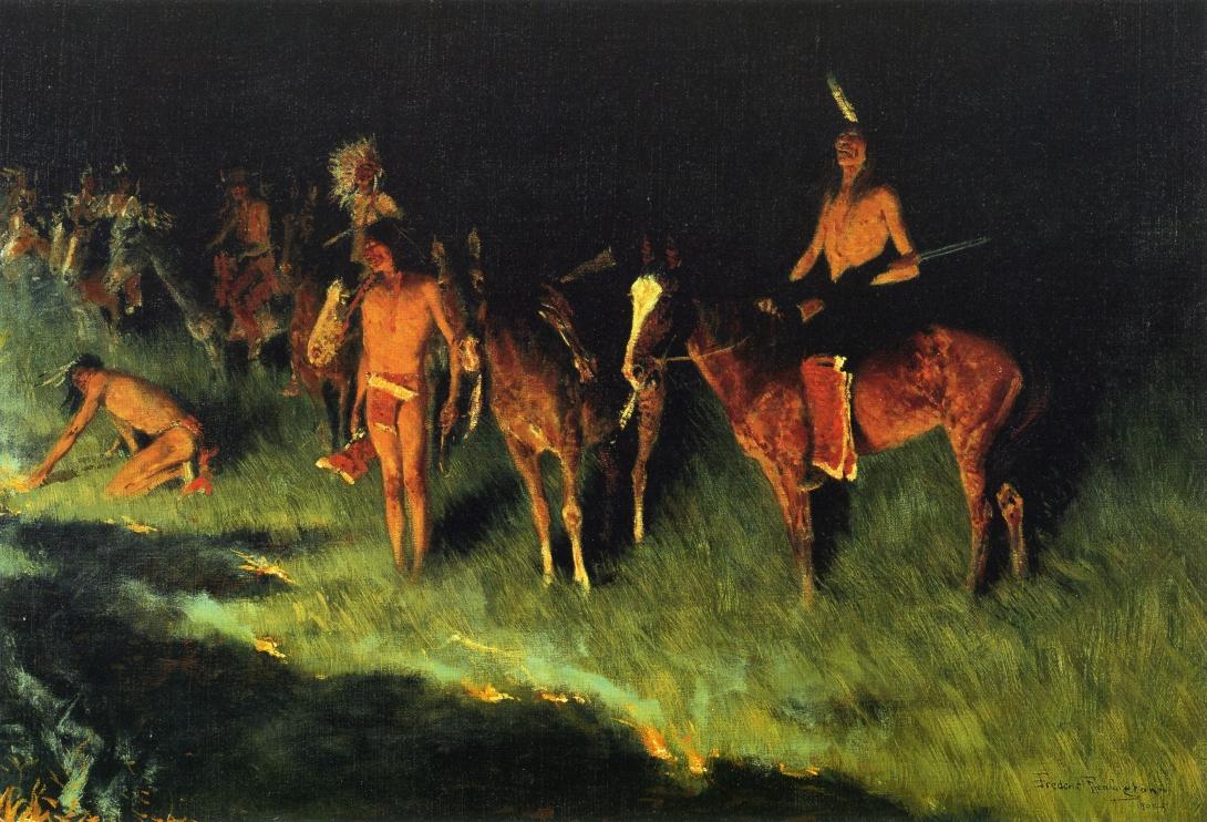 Native American Use Of Fire Wikipedia