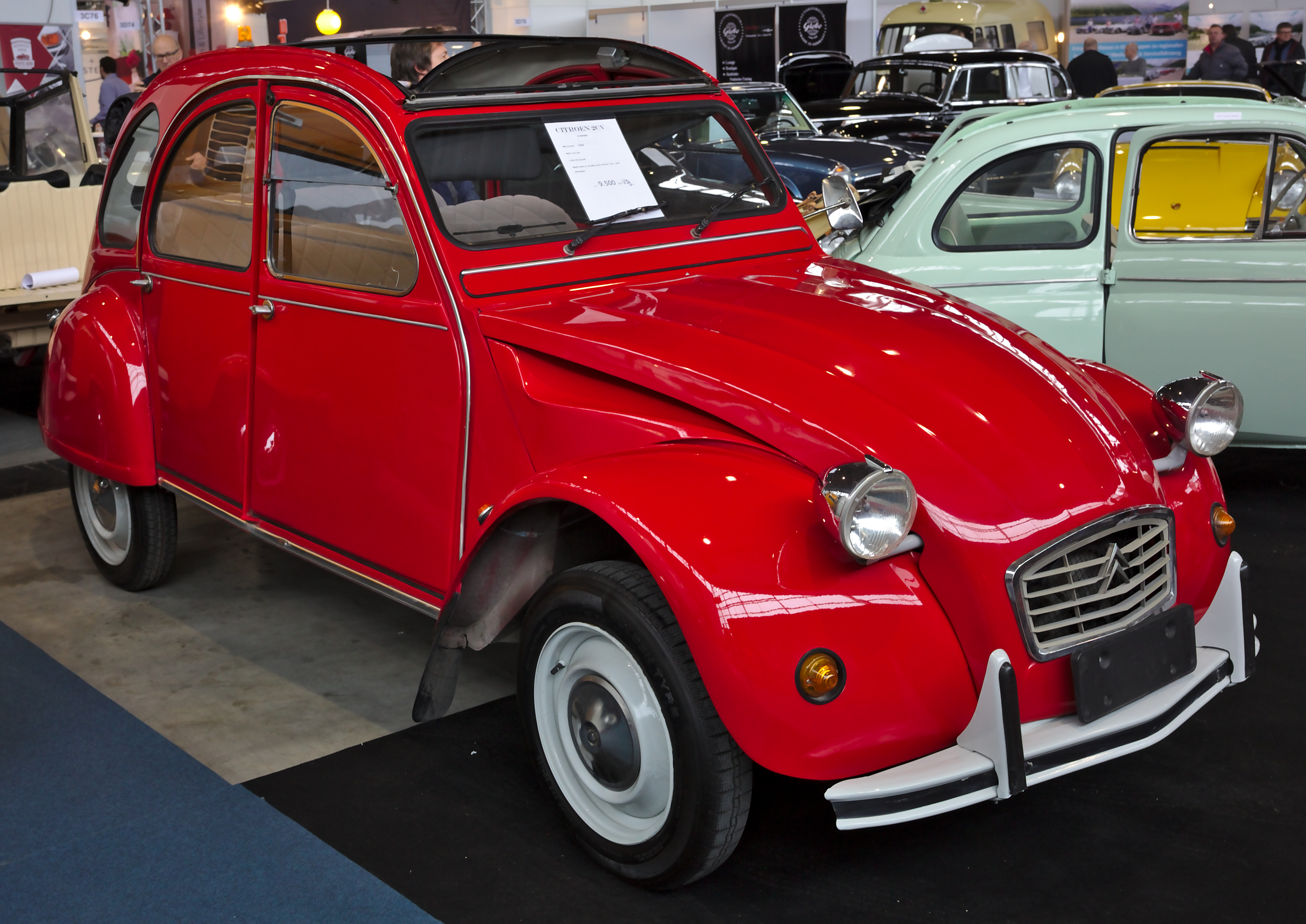 Travel Buggy With Sunroof Citroën 2cv Wikipedia