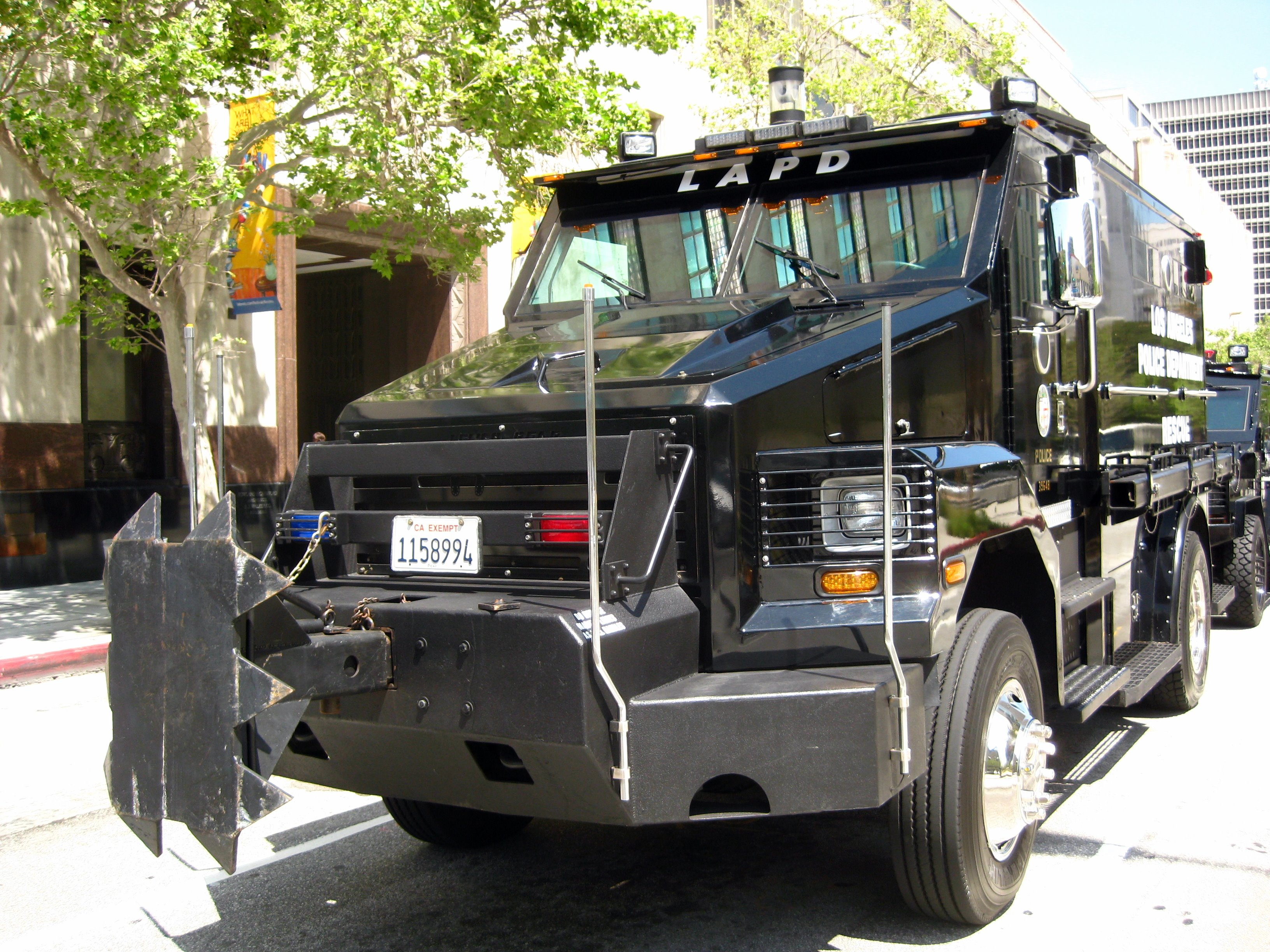 Police Cop Car Live Wallpaper File Lapd Swat Rescue Vehicle Front Jpg Wikimedia Commons