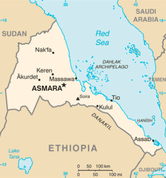 Eritrea after the independence in 1993