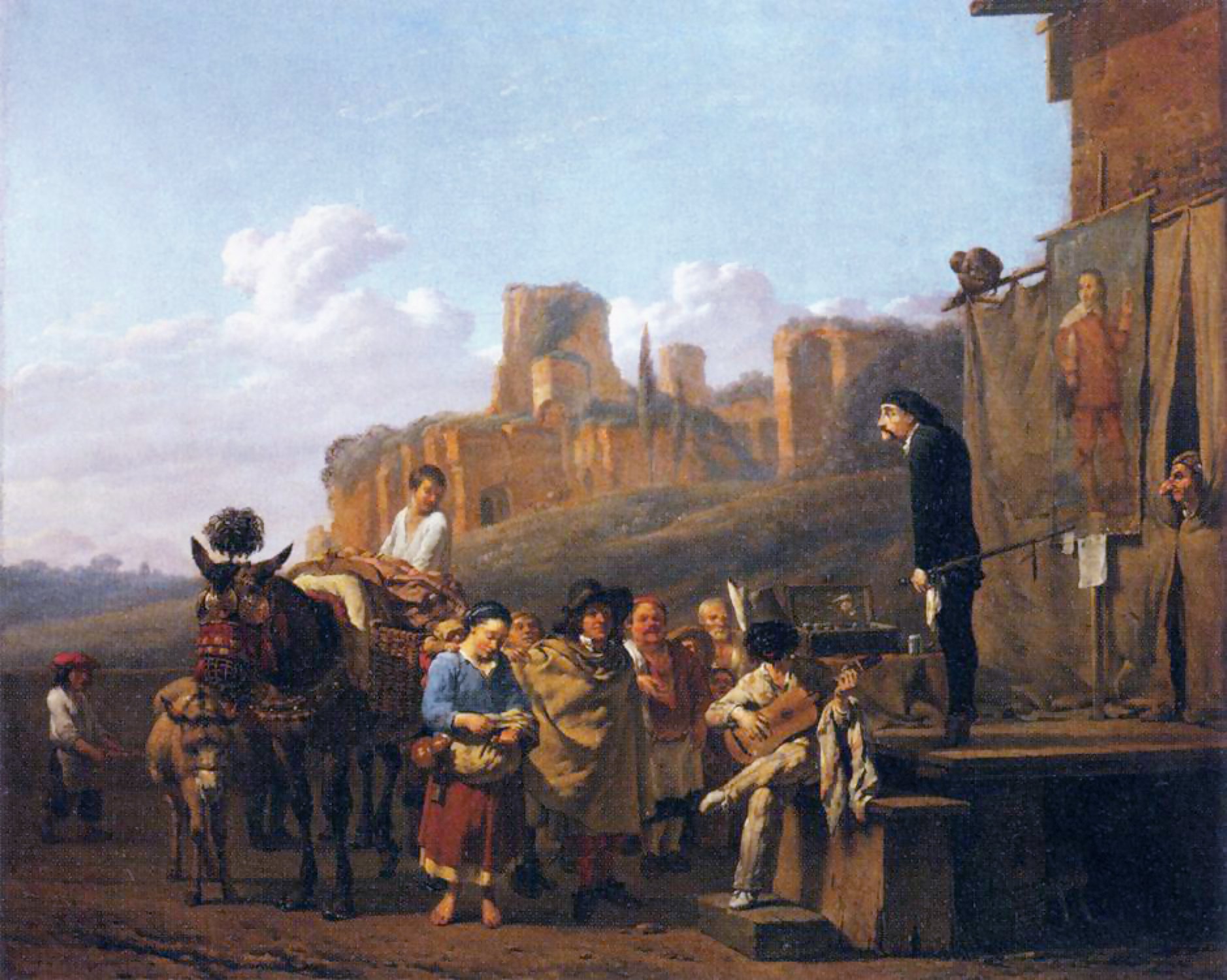 Arte Wikipedia It File Karel Dujardin Les Charlatans Italiens Jpg Wikimedia Commons