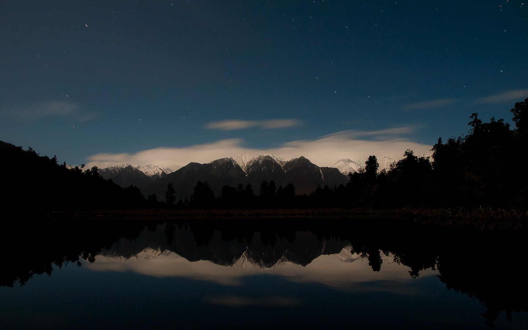 400 800 Hd Wallpaper File Lake Matheson New Zealand At Night Jpg Wikimedia