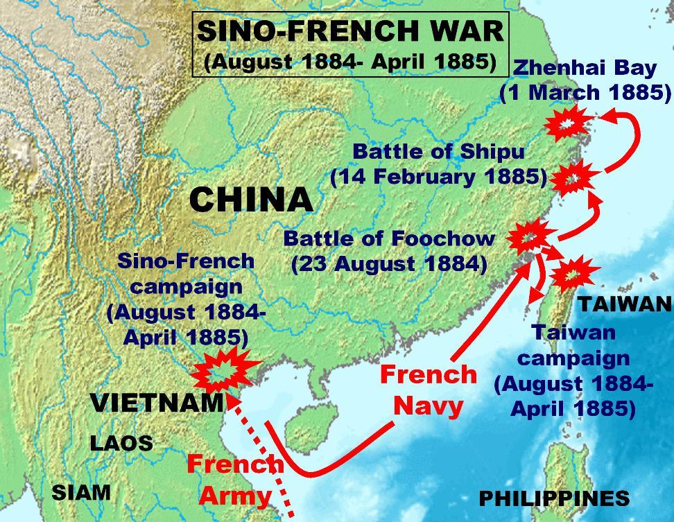 Sino-French War - Wikipedia