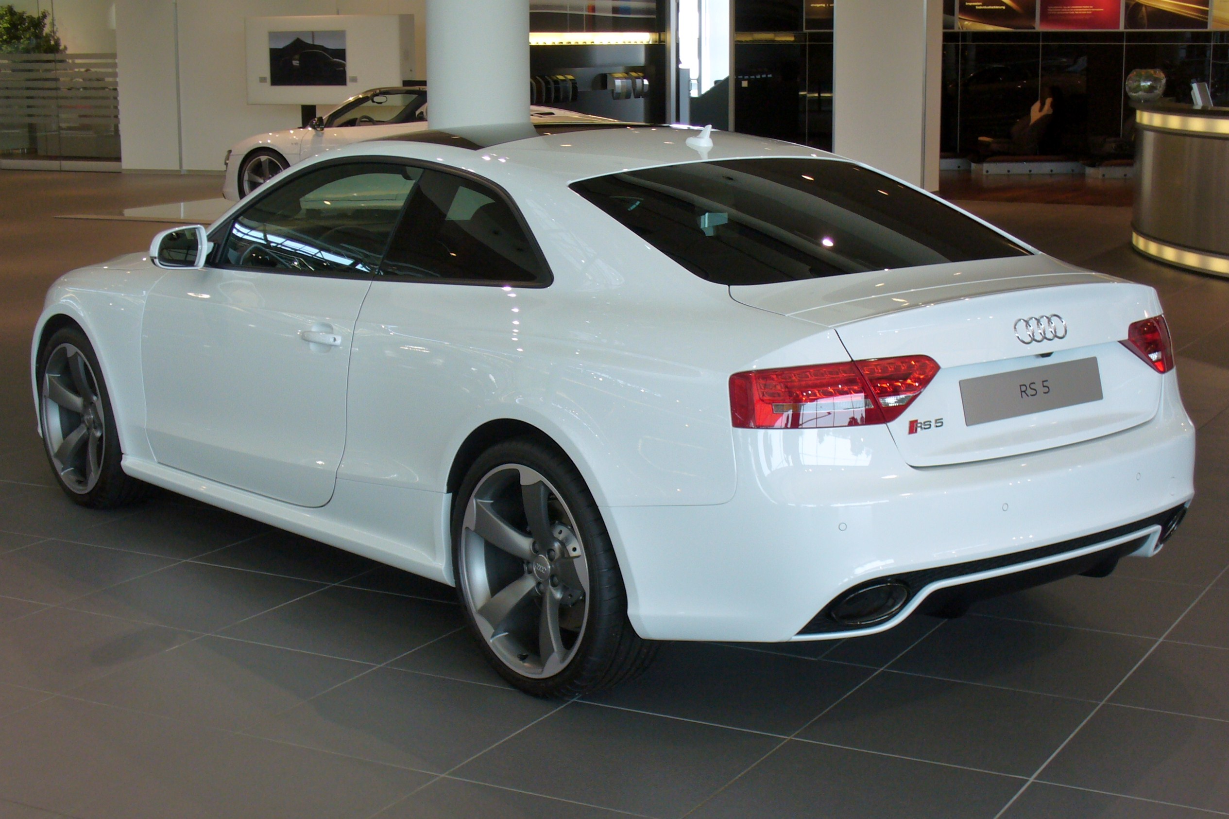 Audi A4 Coupe File Audi Rs5 Coupé 4 2 Fsi Quattro S Tronic Heck Jpg Wikimedia