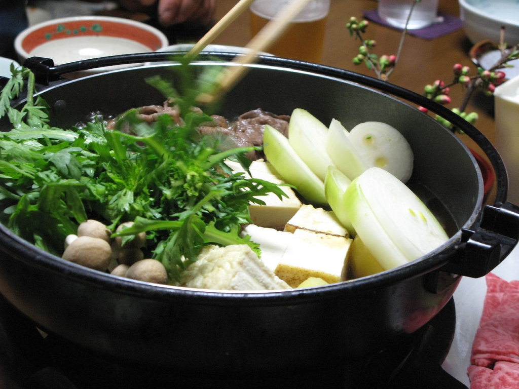 Arte Culinario Wallpaper Archivo Sukiyaki Cooking By Heroic Beer Jpg Wikipedia La